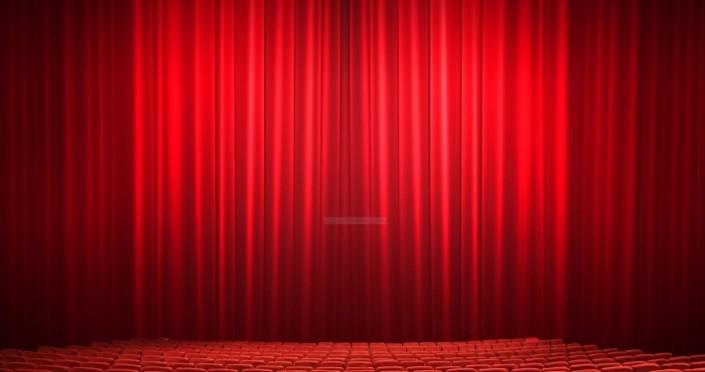 sahne tiyatro perdesi