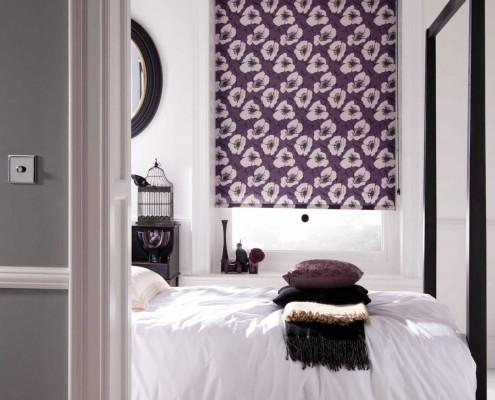 stor perde yatak odası